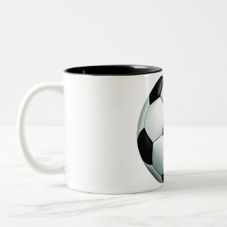SOCCER IT Two-Tone COFFEE MUG