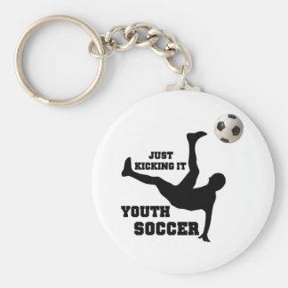 Soccer Key Ring