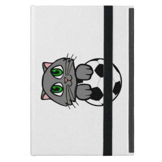 Soccer Kitten Cover For iPad Mini