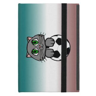 Soccer Kitten Covers For iPad Mini