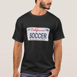 SOCCER License Plate T-Shirt