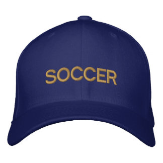 SOCCER logo cap for soccer fans