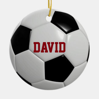 Soccer Lover Personalized Ornament