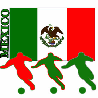 Soccer Mexico Acrylic Cut Out