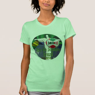 Soccer Mexico Rio de Janeiro Brazil T-Shirt