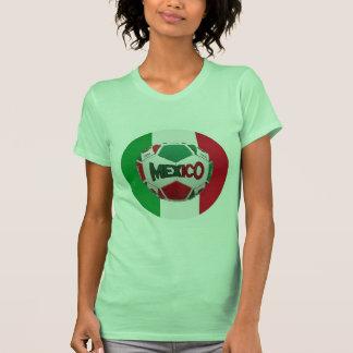 Soccer Mexico Rio de Janeiro Brazil T Shirts