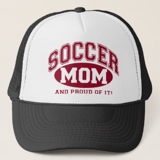 Soccer Mom and proud of it! - Red Trucker Hat
