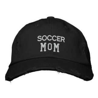 Soccer Mom Embroidered Hats