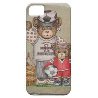 Soccer Mom Kid Bears iPhone 5/5S Cover