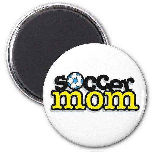 Soccer Mom Refrigerator Magnet