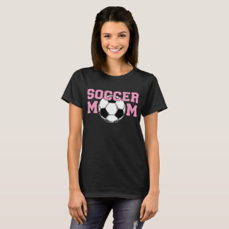 SOCCER Mom - Pink T-Shirt