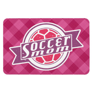 Soccer Mom Rectangular Photo Magnet
