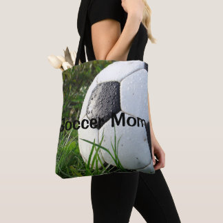 Soccer Mom Sports Shopping Tote Bag
