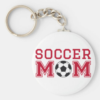 Soccer mom text design for t-shirt shirt key chain