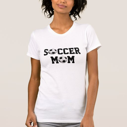 Soccer Mom v2 Soccer Ball Tee Shirt