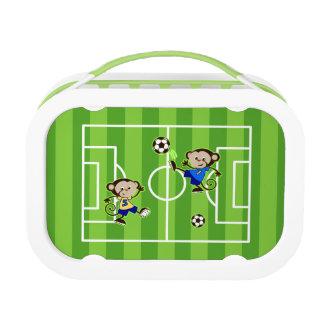 Soccer monkeys lunch box