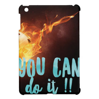 Soccer Motivational Inspirational Success iPad Mini Cover