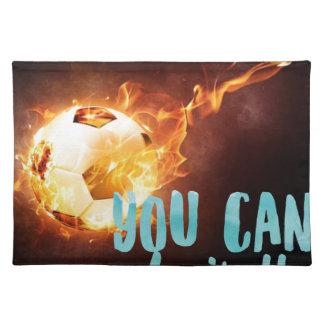 Soccer Motivational Inspirational Success Placemat