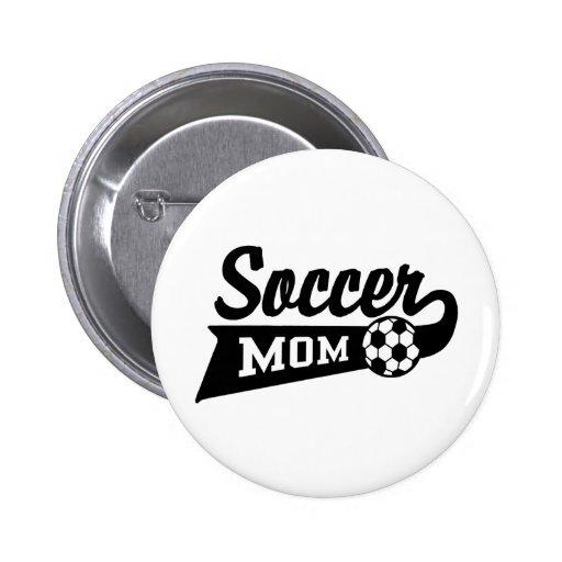 Soccer Mum 6 Cm Round Badge