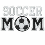 Soccer Mum Embroidered Hoodie