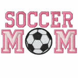 Soccer Mum - pink Hoody