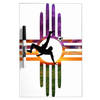 Soccer New Mexico Dry-Erase Whiteboards