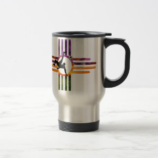 Soccer New Mexico Travel Mug
