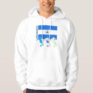 Soccer Nicaragua Hoodie