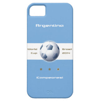 Soccer of the Argentina Selection flag champions Case For The iPhone 5