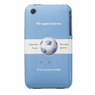 Soccer of the Argentina Selection flag champions iPhone 3 Cover
