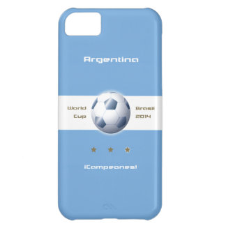 Soccer of the Argentina Selection flag champions iPhone 5C Case