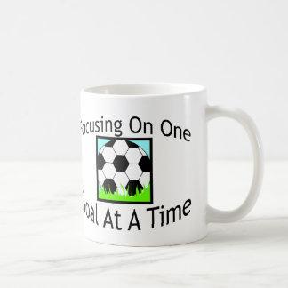 Soccer One Goal At A Time Mug