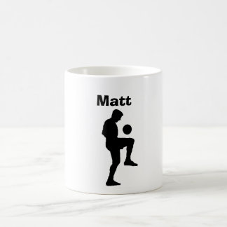 """Soccer"" Personalized Mug (male)"