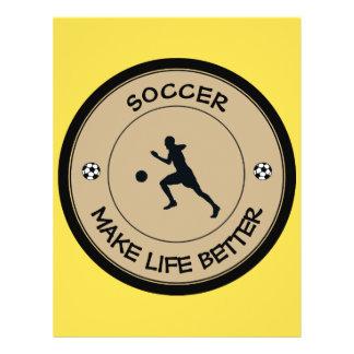 Soccer Player 21.5 Cm X 28 Cm Flyer