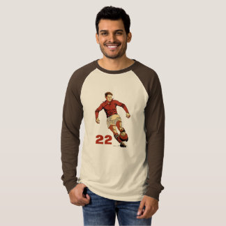 Soccer Player, add text T-Shirt