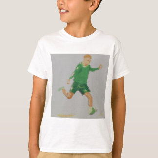 Soccer Player Art T-Shirt
