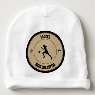 Soccer Player Baby Beanie