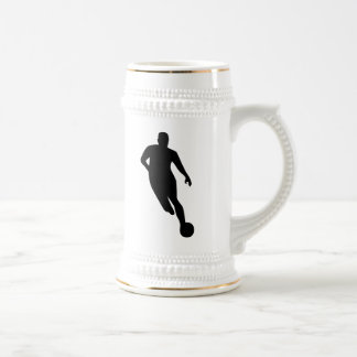 Soccer Player Beer Stein