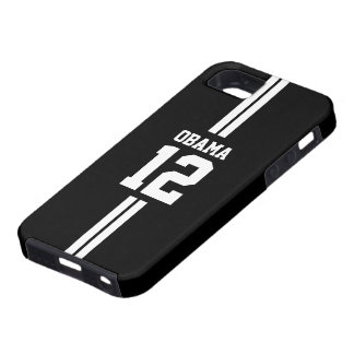 Soccer Player Black Obama iPhone 5 Case