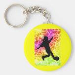 Soccer Player & Fluorescent Mosaic