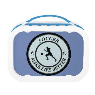 Soccer Player Lunch Box