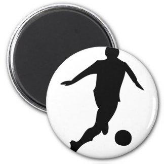 soccer player magnet