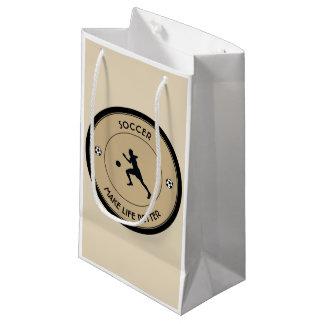 Soccer Player Small Gift Bag