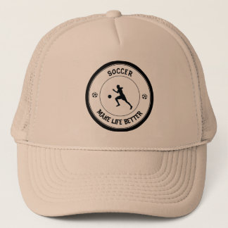 Soccer Player Trucker Hat