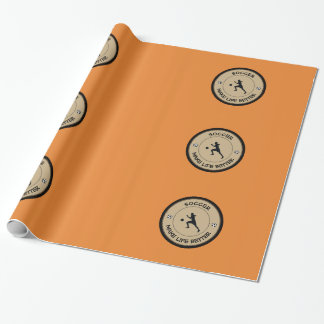 Soccer Player Wrapping Paper