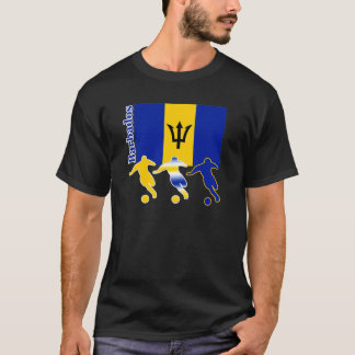 Soccer Players -  Barbados T-Shirt