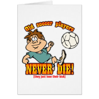 Soccer Players Card