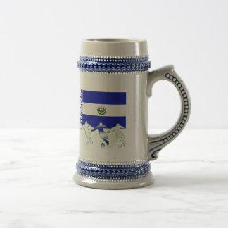 Soccer Players - El Salvador Coffee Mug