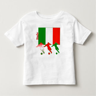 Soccer Players - Italy Toddler T-Shirt