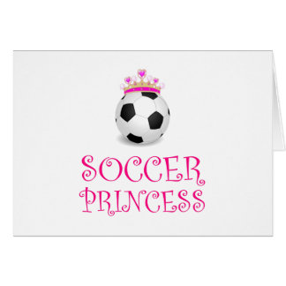 Soccer Princess Card